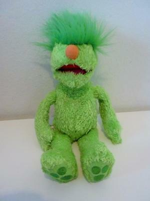 Hensons Muppets Hoobs Mini Beanie Green Groove Plush Soft Toy Doll 7""