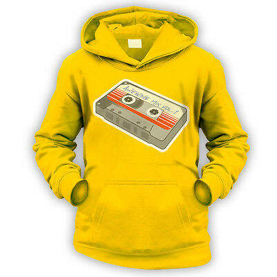 Awesome Mix Vol 1 Kids Hoodie -x9 Colours- Movie Cassette Tape 1980s Star