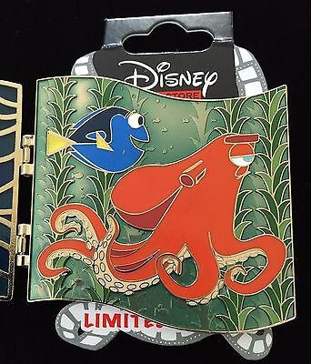 Disney Pixar Pin Dsf Dssh Finding Dory Summer Bash Hank Stained Glass Le 300