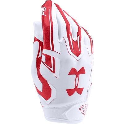 Under Armour Youth F5 Superman Football Receiver Gloves New