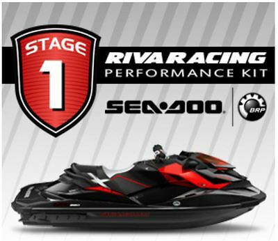 SEADOO RXP-X 260 STAGE 1 Kit RIVA 70+ MPH SCOM Catch Can Power Filter Bundle