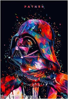 Darth Vader Star Wars Picture Poster Home Art Print / Wall Decor New