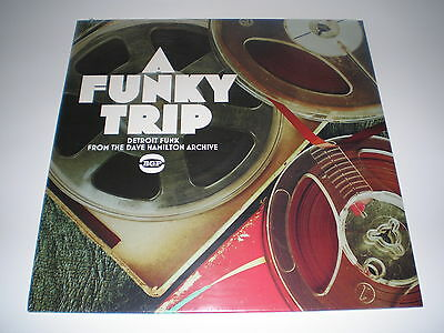 70's FUNK LP - A FUNKY TRIP - DETROIT FUNK - DAVE HAMILTON ARCHIVE NEW UNPLAYED