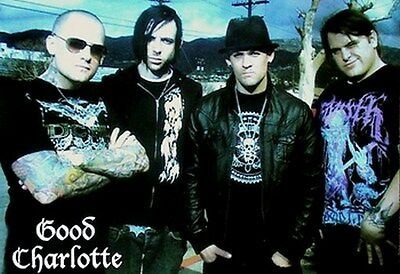 GOOD CHARLOTTE POSTER Street Group Shot NEW HOT 24X36 - PRINT IMAGE PHOTO
