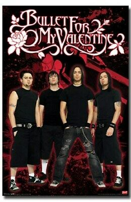 BULLET FOR MY VALENTINE POSTER Great Group Shot NEW HOT