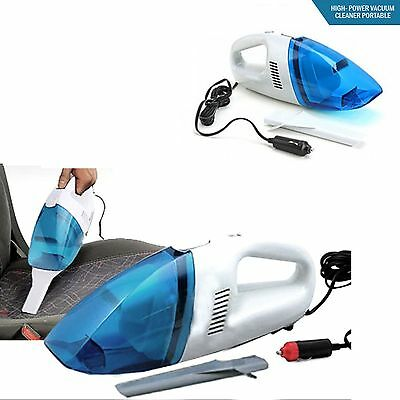 Car Vacuum Cleaner Hoover Hand Held Wet & Dry Van 12V Portable Vacuum Plug In