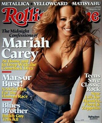 Mariah Carey Poster - Rolling Stone Cover - Rare New - Print Image Photo