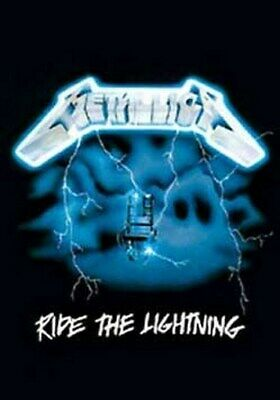METALLICA POSTER Ride the Lightning RARE HOT NEW 24X36 - PRINT IMAGE PHOTO