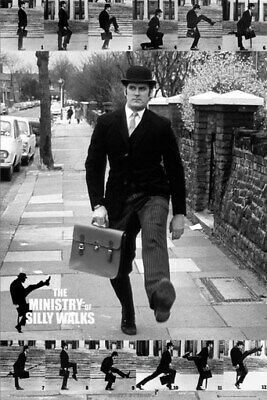 Monty Python Poster - Ministry Of Silly Walks - 24X36 - Print Image Photo