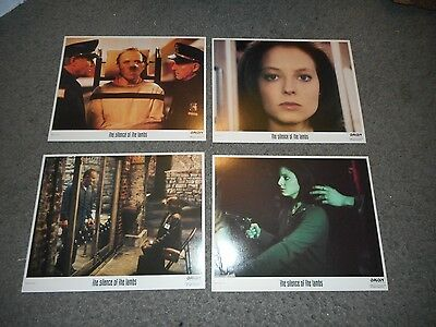 The Silence Of The Lambs  - Original Set Of 8 8 X 10 Lobby Cards - 1991