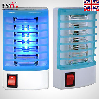 4* Electric Mosquito Killer Fly Bug Insect Trap Zapper w/ LED Lamp EU Plug