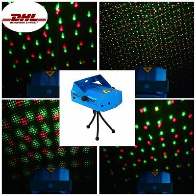 LED Laser Party Licht Projector DJ Disco Bar Stage Show Lighting  Party DE
