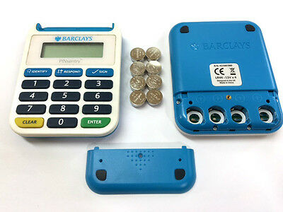 8 X Replacement Batteries For Barclays Pin Sentry Card Reader Bank Battery *new*