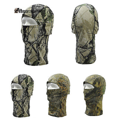 Tactical Airsoft Hunting Chiefs Rattlesnake Full Fask Balaclava Camo Mask Bicycl