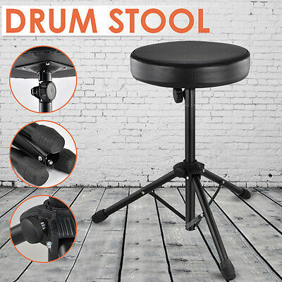Foldable Music Guitar Keyboard Drum Stool&Throne Piano Chair Double Padded Seat