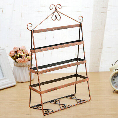 Jewelry Necklace Ring Earring Stand Display Organizer Holder Show Rack