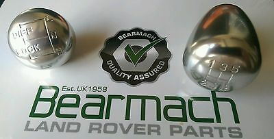 Land Rover Defender 90, 110, 130, 300 tdi, Gear Box & Transfer knob Set, 1994-06
