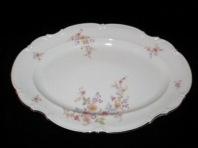 "Hutschenreuther AFTON 8454, Oval Serving Platter, 15 1/4"" by 10 1/2"""