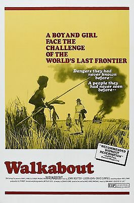 """""""Walkabout""""  Jenny Agutter Classic Movie Poster A1A2A3A4Sizes"""