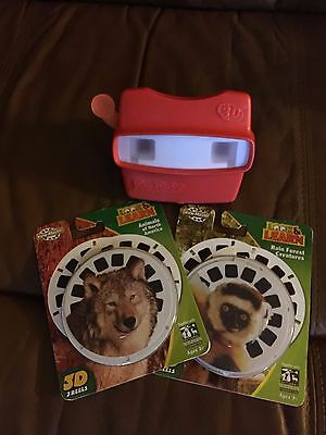 Red View Master 3D Fisher Price ViewMaster w/ 3D Reels
