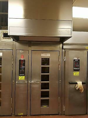 Hobart Natural Gas HO210G1 Single Rack Bakery Roll In Oven w/ Cart