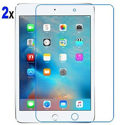 """2X Premium Tempered Glass Screen Protector Film for Apple iPad Pro -9.7"""" New"""