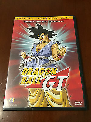 Dragon Ball Gt Dvd 1 - Capis 1 A 3 - 75 Minutos - Ed  Remasterizada Slimcase