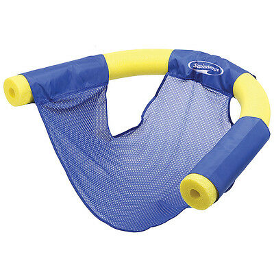 NEW (Set/2) Swimways Floating Pool Noodle Sling Mesh Chairs - Water Relaxation