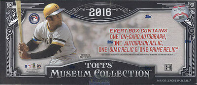 2016 Topps Museum Collection Baseball SEALED HOBBY BOX