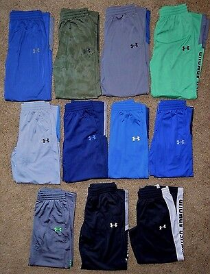 Boy's Youth Under Armour All Season Gear Loose Fit Polyester Sweat Pants