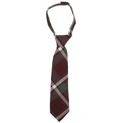 French Toast School Uniform Adjustable Boys Ties Solid & Plaid - Size 4-12