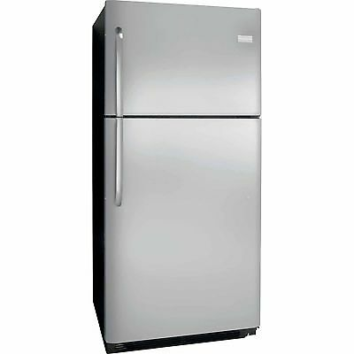20.4 Cu. Ft. Top Freezer Refrigerator - Stainless Steel