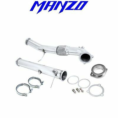 Manzo Fits C30 Downpipe 2006+ Downpipe+Test Pipe TP-200
