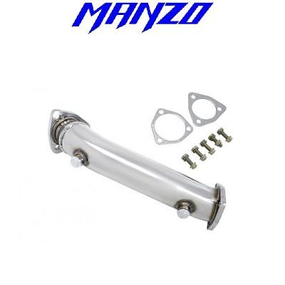 "Manzo Fits 1998-2005 Passat 3"" 1.8L Turbo Test Pipe Downpipe+Test Pipe TP-206"