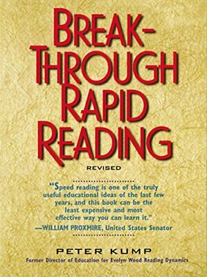 Breakthrough Rapid Reading by Kump, Peter Paperback Book The Cheap Fast Free