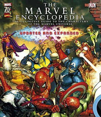 Marvel Encyclopedia by DK Publishing(DK) Hardback Book The Cheap Fast Free Post