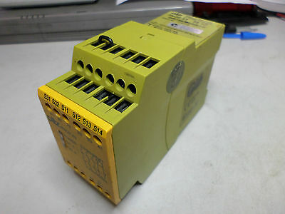 PILZ SAFETY RELAY PNOZ X3 240VAAC 24VAC/DC - 774319 - 3 SAFETY and 1 AUX Contact