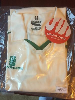 New Men's White Cricket Shirt Uk Extra Large Size