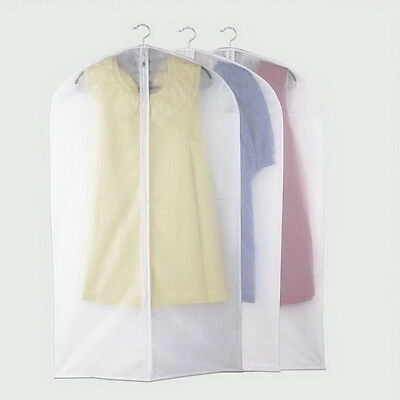 Clothes Dress Protector Dustproof Cover Garment Suit Bag BRAND NEW PY