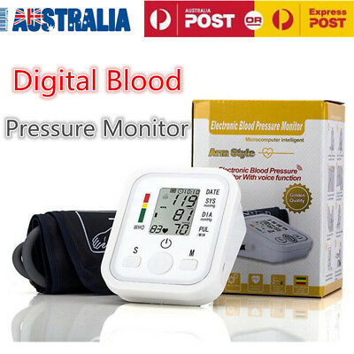 Digital Blood Pressure Monitor Automatic Upper Arm Brand New Free Postage