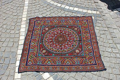 Antique Original Perfect Full Cotton Persian Handmade Textile
