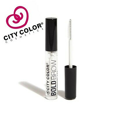 City Color Bold Brow Clear Eyebrow Gel Shaping Styling Tamer Define Brow Mascara
