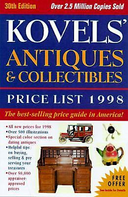 Kovels' Antiques and Collectibles Price List 1998