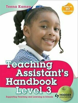 Teaching Assistant's Handbook for Level 3: Supporti... by Kamen, Teena Paperback