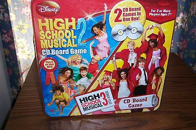 NEW Disney's High School Musical 2 and 3 CD Board Game