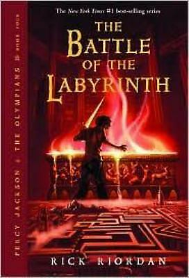 The Battle Of The Labyrinth (Percy Jackson and the Olympians, Book 4)