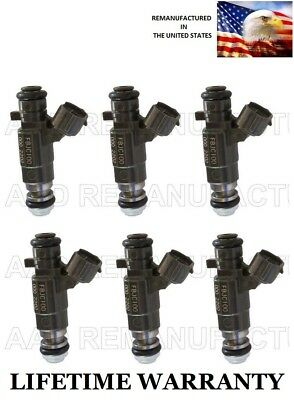 OEM  FBJC100  JECS FUEL INJECTOR  FOR NISSAN MAXIMA INFINITI 3.O-3.5 L SET OF 6