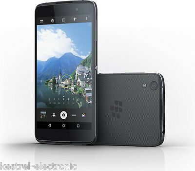 "Blackberry DTEK50 Smartphone Black 5.2"" 16GB 4G Unlocked & SIM Free"