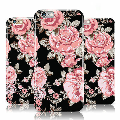 Shabby Chic New Floral Rose Flower Case Cover For Apple Iphone Mobile Phones