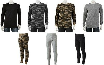 Croft & Barrow Thermal Shirt or Pants ~ Pick Your Size, Style and Color!